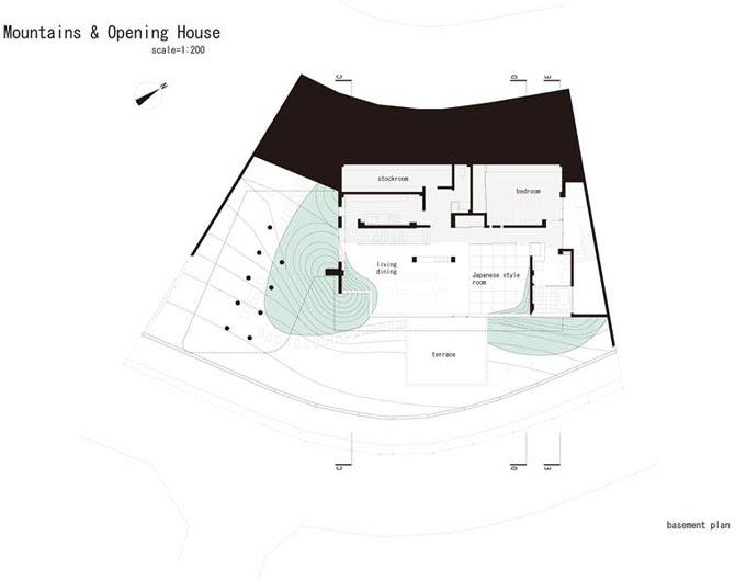 Mountain & Opening 16 - Interior Architecture Art