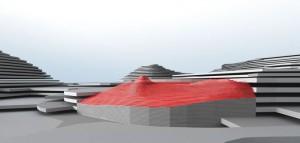 Mountain & Opening 22 - Interior Architecture Art