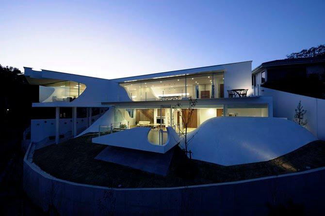 Mountain & Opening 4 - Interior Architecture Art
