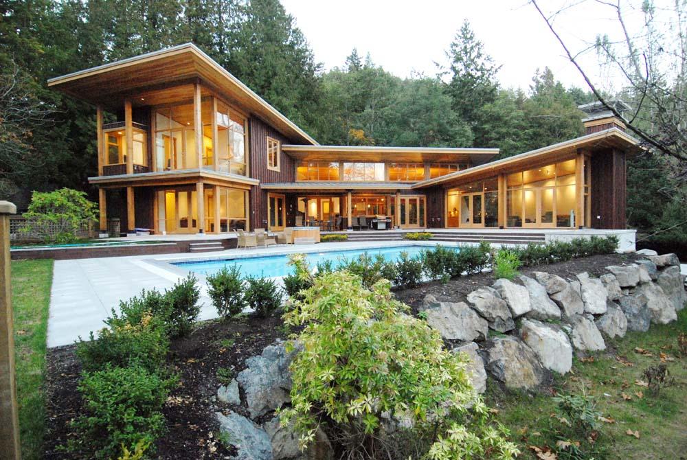 Collins Lane, Bowen Island Residence 1 - Interior Architecture Art