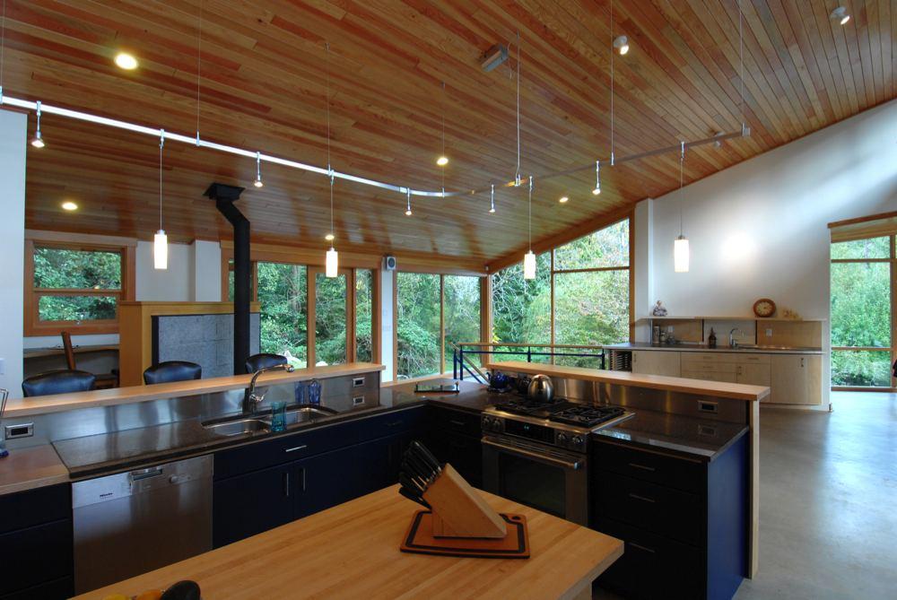Collins Lane Bowen Island Residence Interior Architecture Art