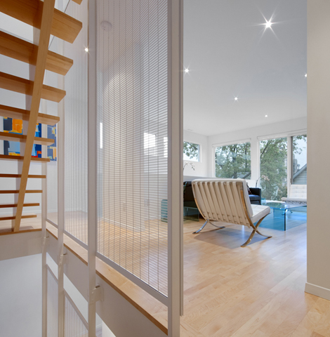 Front To Back Infill - Back Interior 1 - Interior Architecture Art