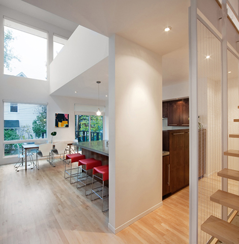 Front To Back Infill - Back Interior 5 - Interior Architecture Art