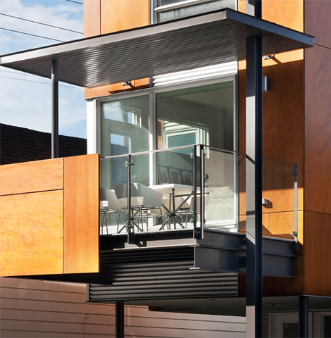 Front To Back Infill - Exterior 2 - Interior Architecture Art