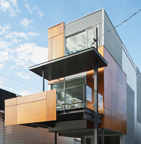 Front To Back Infill - Exterior 3 - Interior Architecture Art