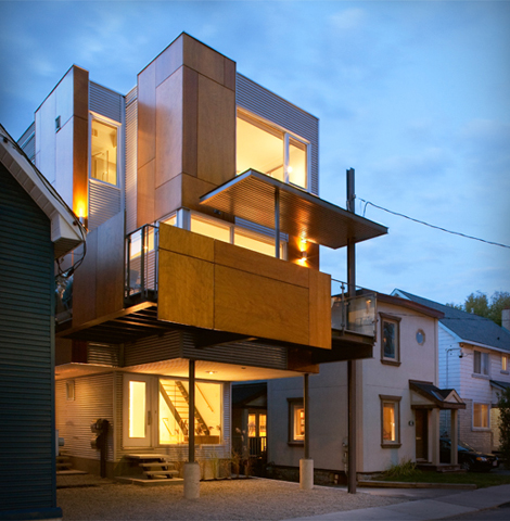 Front To Back Infill - Exterior 6 - Interior Architecture Art