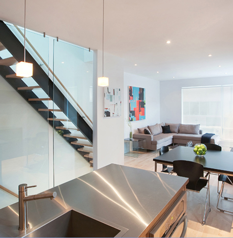 Front To Back Infill - Interior 1 - Interior Architecture Art
