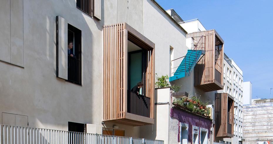 Logements Sociaux + Ateliers D'Artistes - Image 1 - Interior Architecture Art