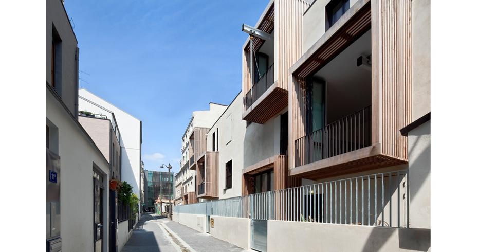 Tetris, Social Housing + Artist Studios - Image 11 - Interior Architecture Art