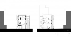 Tetris, Social Housing + Artist Studios - Plan 6 - Interior Architecture Art