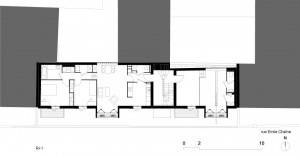 Tetris, Social Housing + Artist Studios - Plan 8 - Interior Architecture Art