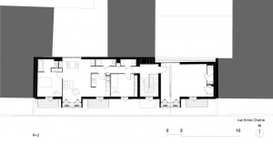 Tetris, Social Housing + Artist Studios - Plan 9 - Interior Architecture Art