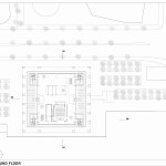 Nykredit Headquaters - Ground Floor Plan - Interior Architecture Art