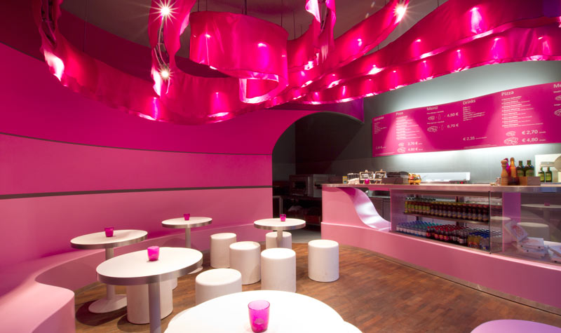 Pizza Restaurant Berlin 2 - Interior Architecture Art