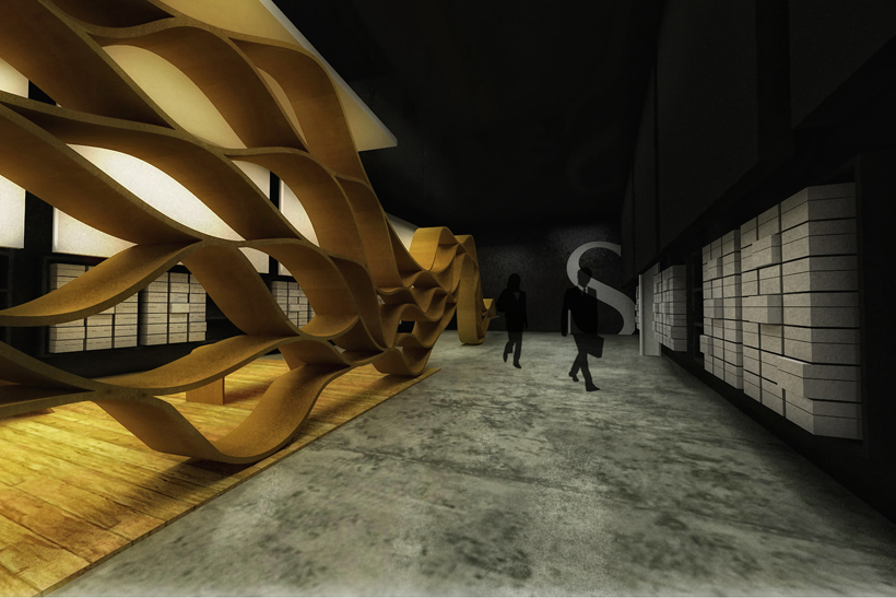 Santini Mulza 2 - Interior Architecture Art