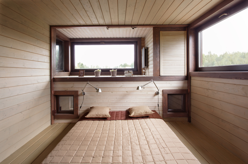 Wood Patchwork House 13 - Interior Architecture Art