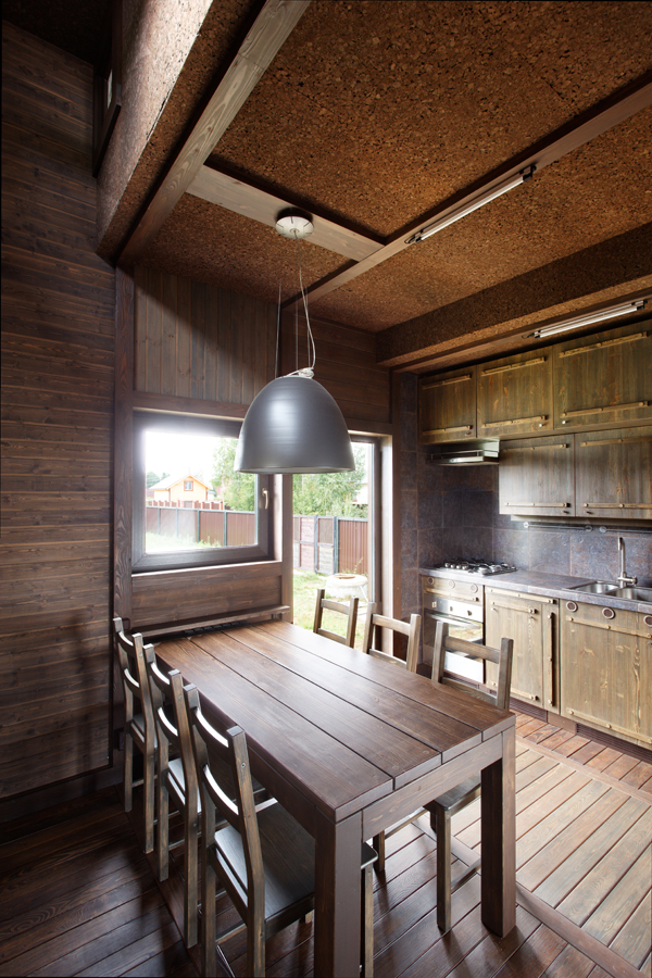 Wood Patchwork House 14 - Interior Architecture Art