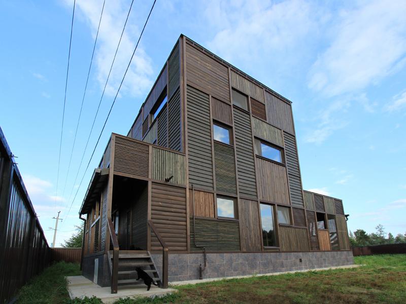 Wood Patchwork House 6 - Interior Architecture Art