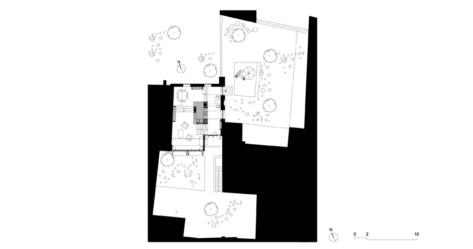 Maison Escalier Plan 2- Interior Architecture Art