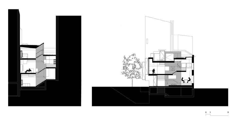 Maison Escalier Plan 4 - Interior Architecture Art
