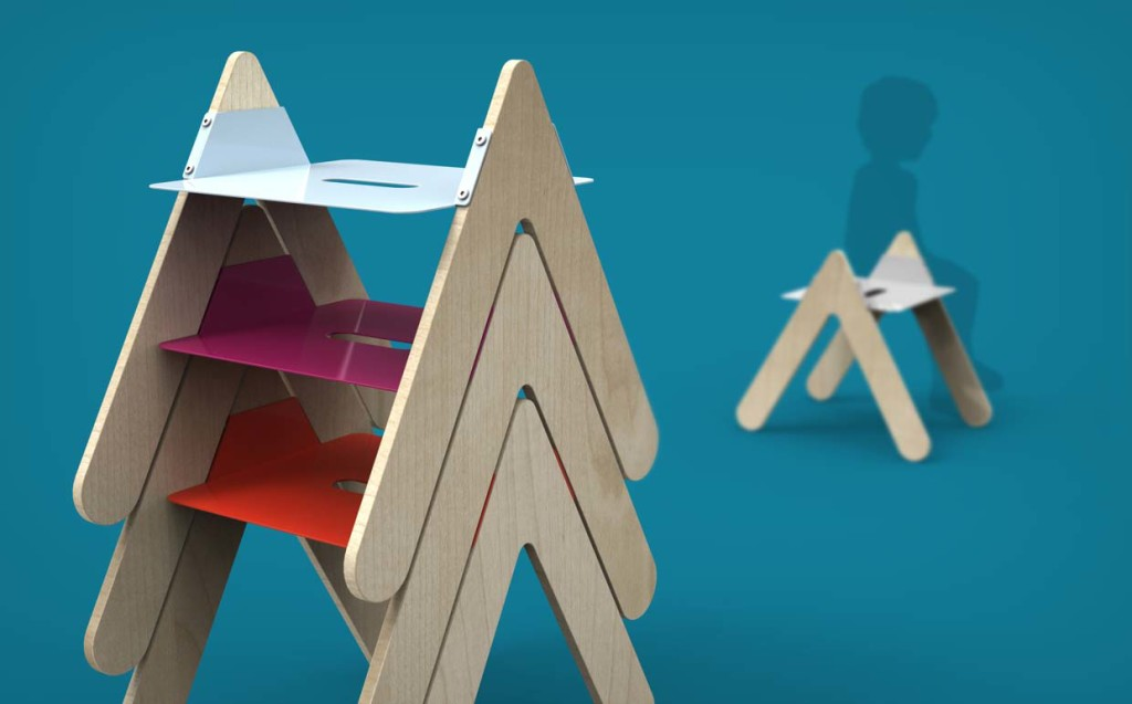 Stacks 2 - Interior Architecture Art