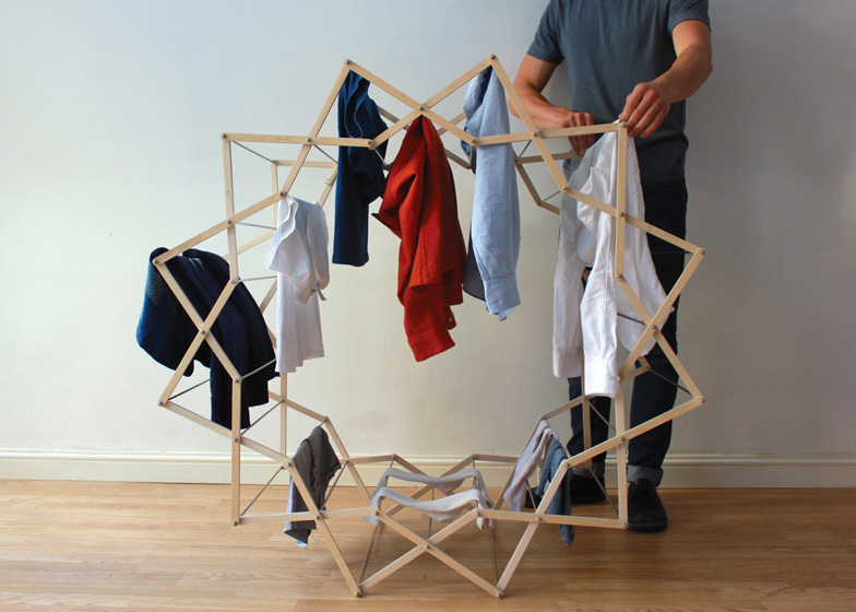 Clothes Horse 1 - Interior Architecture Art