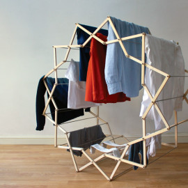 Clothes Horse 2 - Interior Architecture Art