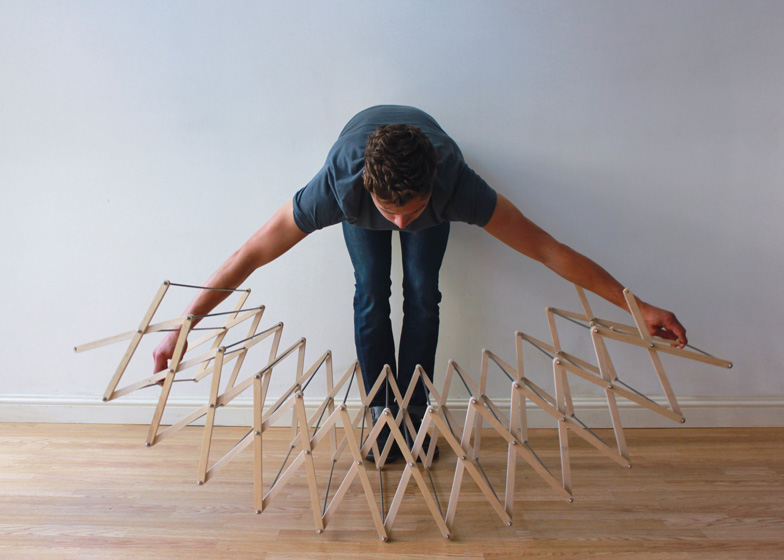 Clothes Horse 4 - Interior Architecture Art