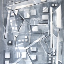 Back Alley Abstract by Sandra Duba-Shubs 4 - Interior Architecture Art