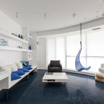 Blue Pie 01- Interior Architecture Art