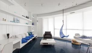 Blue Pie 01- Interior Architecture Art