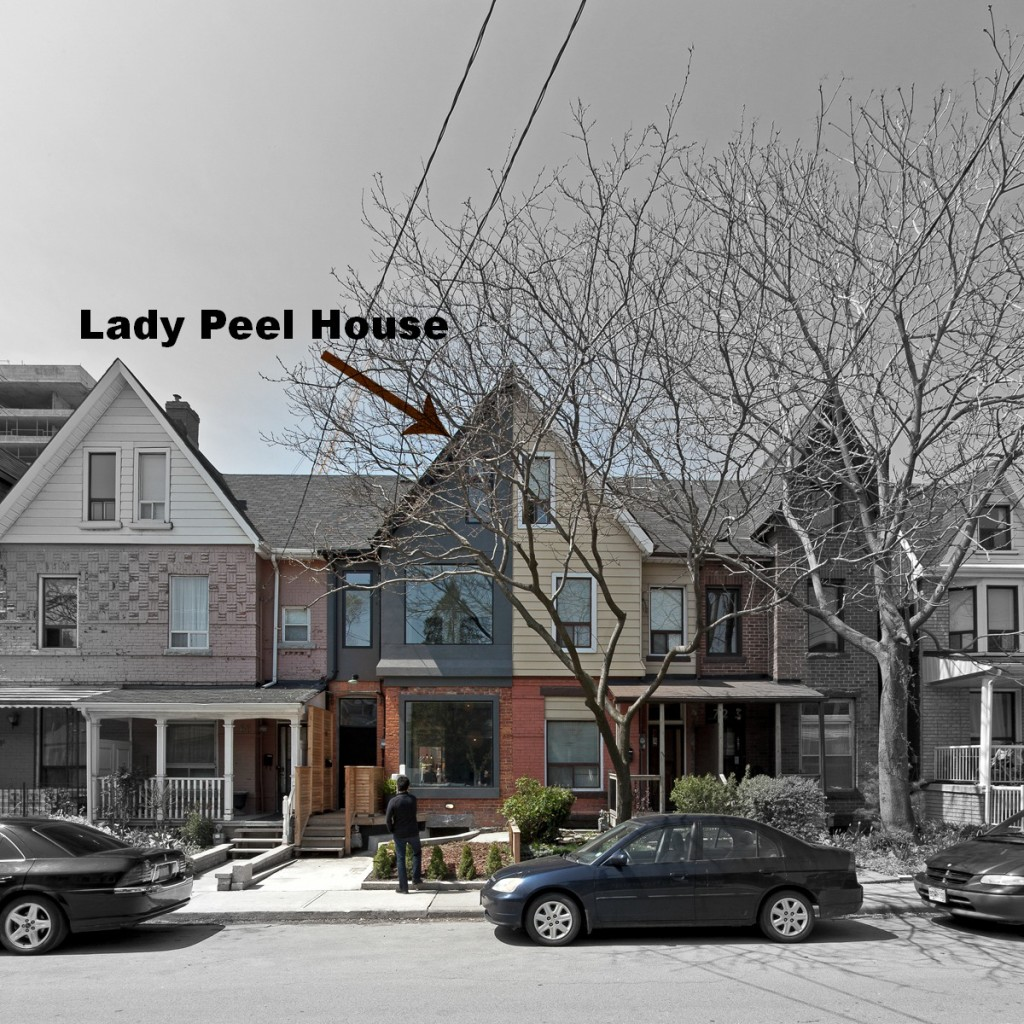 Lady Peel House Front View - Interior Architecture Art